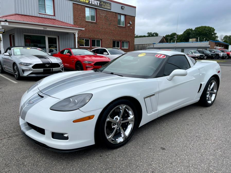 Used Chevrolet Corvette 2dr Cpe Grand Sport w/4LT 2013 | Mike And Tony Auto Sales, Inc. South Windsor, Connecticut