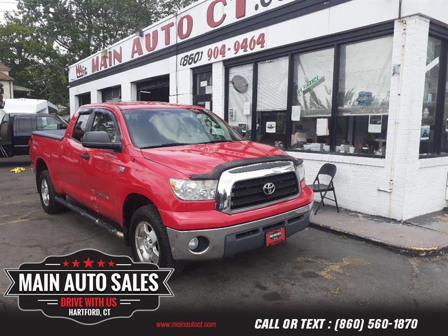 "Used Toyota Tundra 4WD Double 145.7"" 4.7L V8 SR5 (Natl 2007 | Main Auto Sales LLC. Hartford, Connecticut"