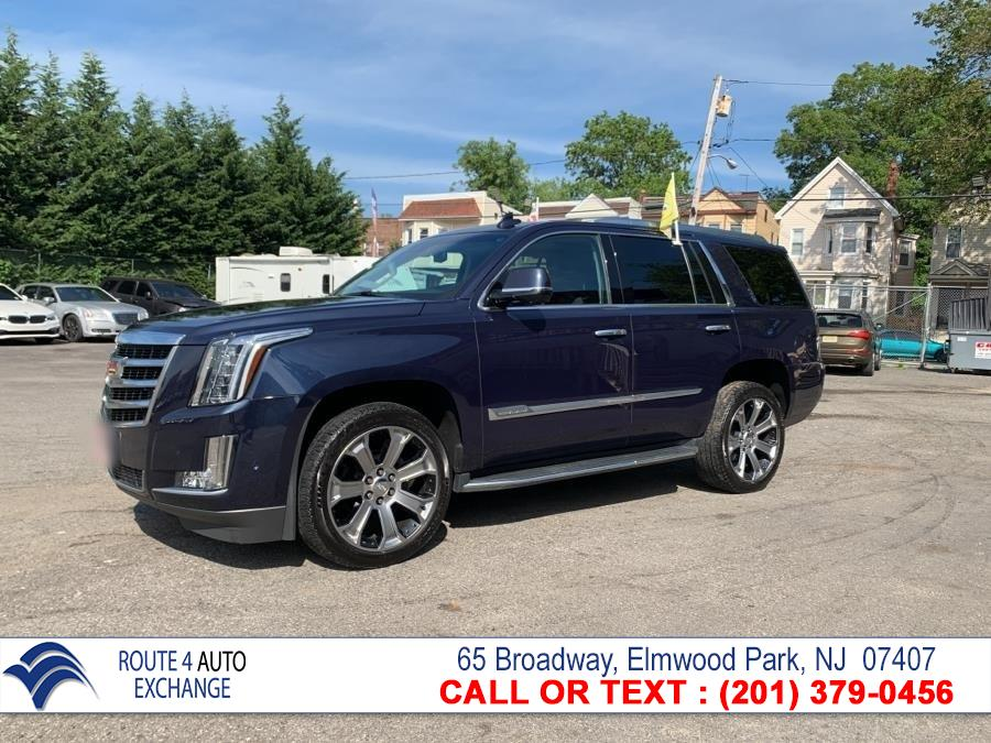 Used Cadillac Escalade 4WD 4dr Luxury 2018 | Route 4 Auto Exchange. Elmwood Park, New Jersey