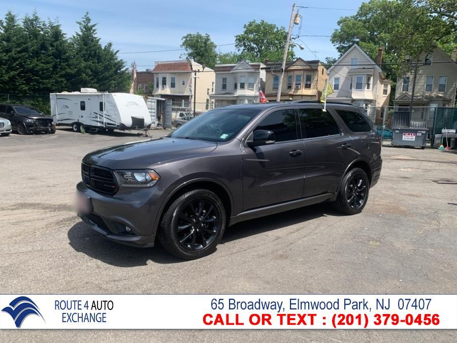 Used Dodge Durango GT AWD 2018   Route 4 Auto Exchange. Elmwood Park, New Jersey