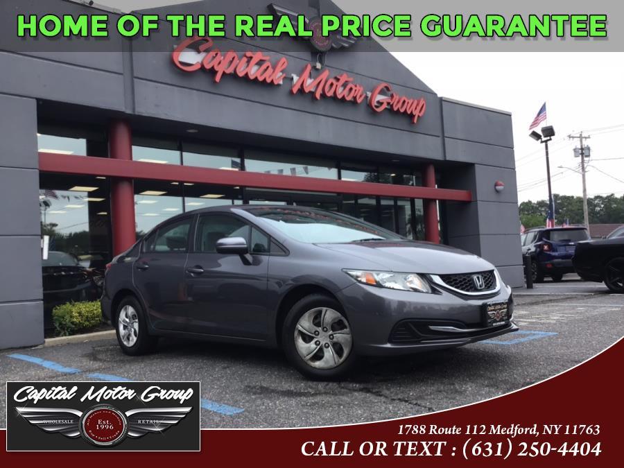 Used Honda Civic Sedan 4dr CVT LX 2014 | Capital Motor Group Inc. Medford, New York