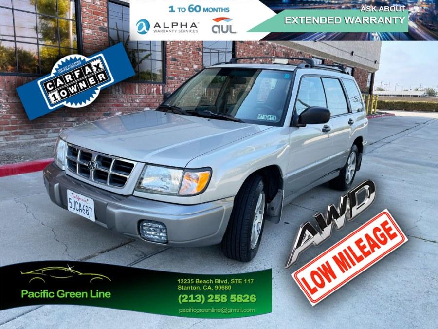 Used Subaru Forester 4dr S Auto 2000   Pacific Green Line. Stanton, California
