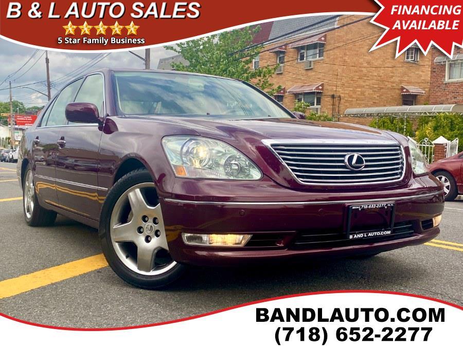 Used Lexus LS 430 4dr Sedan 2006 | B & L Auto Sales LLC. Bronx, New York