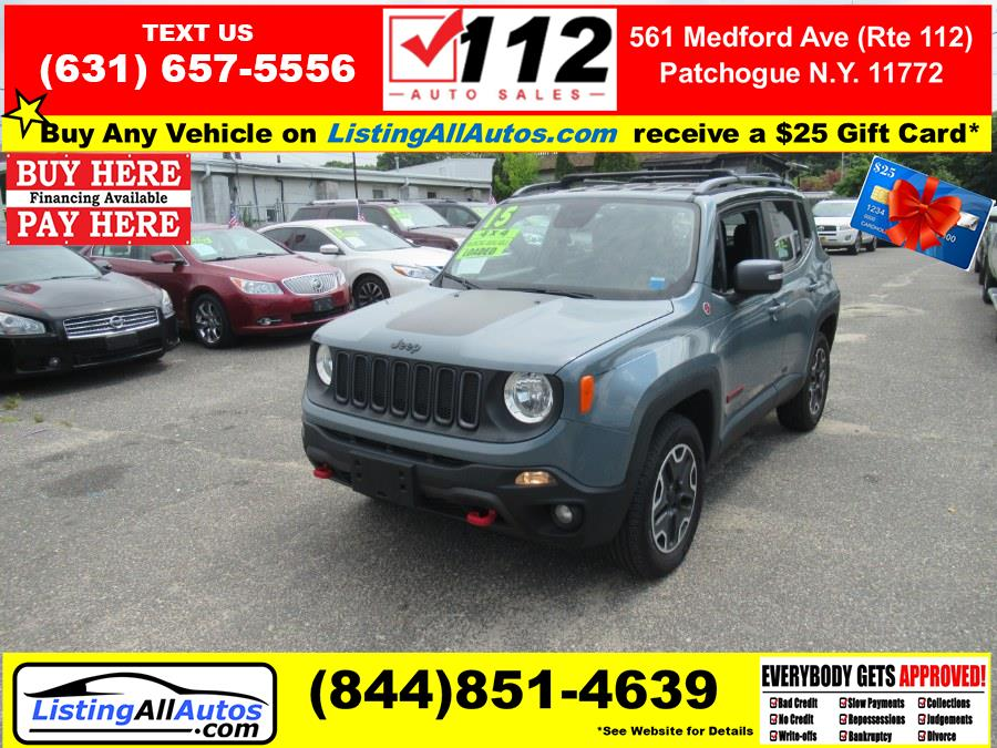 Used 2015 Jeep Renegade in Patchogue, New York | www.ListingAllAutos.com. Patchogue, New York