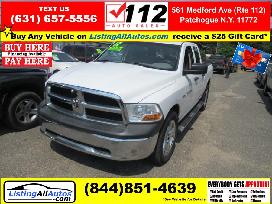 Used 2012 Ram 1500 in Patchogue, New York   www.ListingAllAutos.com. Patchogue, New York