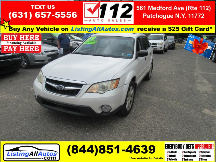 Used 2008 Subaru Outback in Patchogue, New York | www.ListingAllAutos.com. Patchogue, New York