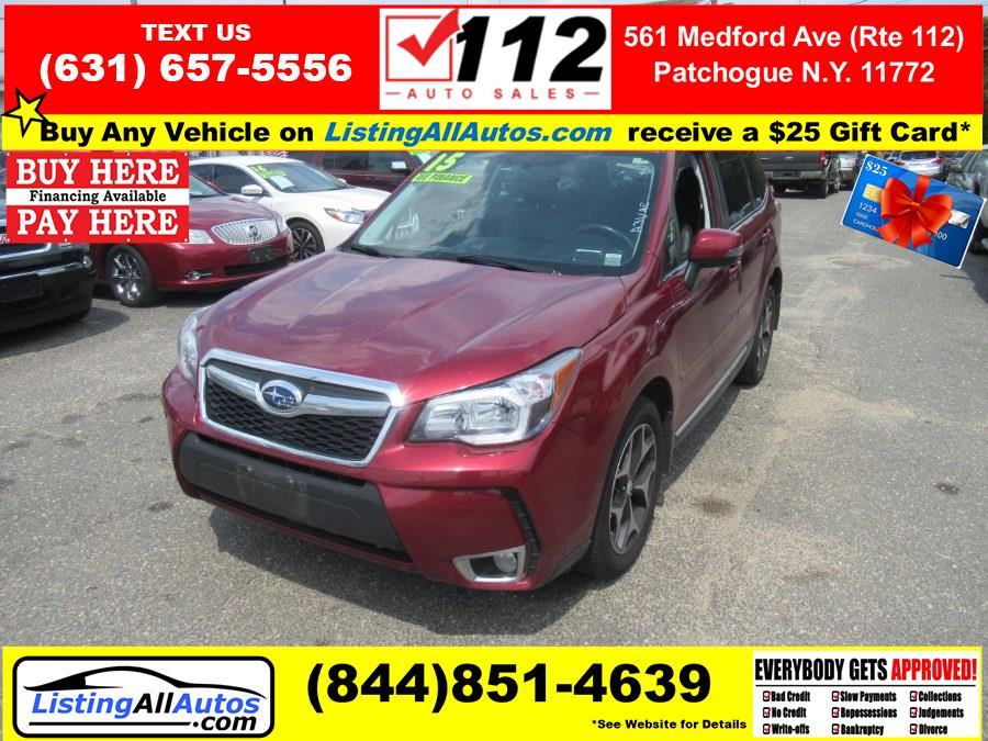 Used 2015 Subaru Forester in Patchogue, New York | www.ListingAllAutos.com. Patchogue, New York