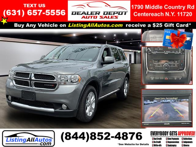 Used 2013 Dodge Durango in Patchogue, New York   www.ListingAllAutos.com. Patchogue, New York