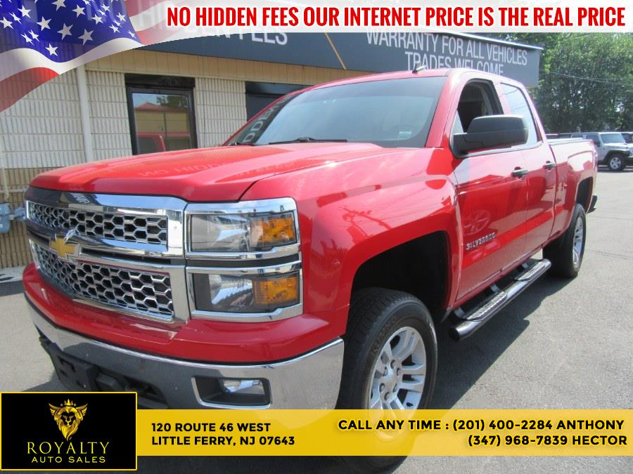 """Used Chevrolet Silverado 1500 4WD Double Cab 143.5"""" LT w/1LT 2014 