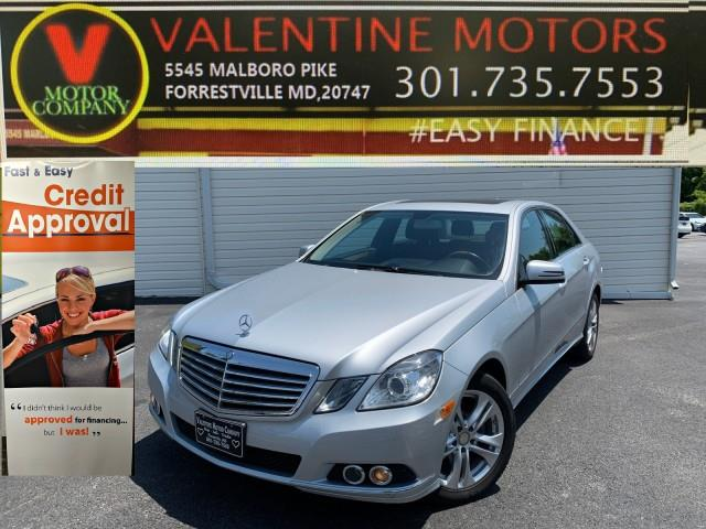 Used Mercedes-benz E-class E 350 Sport 2011 | Valentine Motor Company. Forestville, Maryland