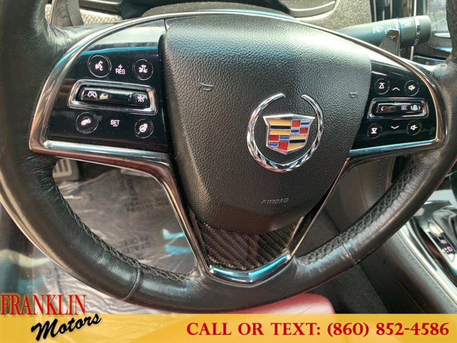 Used Cadillac ATS 4dr Sdn 2.0L Performance AWD 2013 | Franklin Motors Auto Sales LLC. Hartford, Connecticut