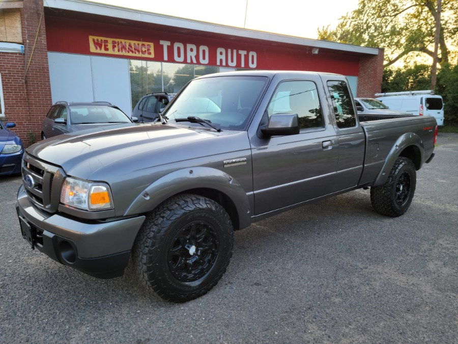2011 Ford Ranger Sport 4WD 4.0 Manual Super Cab, available for sale in East Windsor, CT
