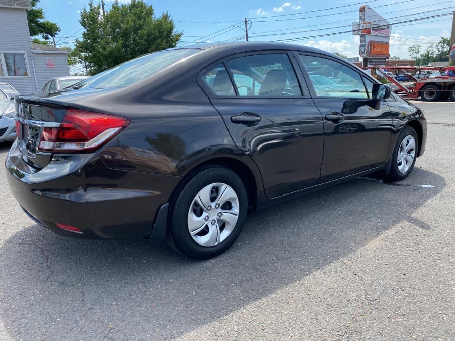 Used Honda Civic Sedan 4dr CVT LX 2014 | Auto Store. West Hartford, Connecticut