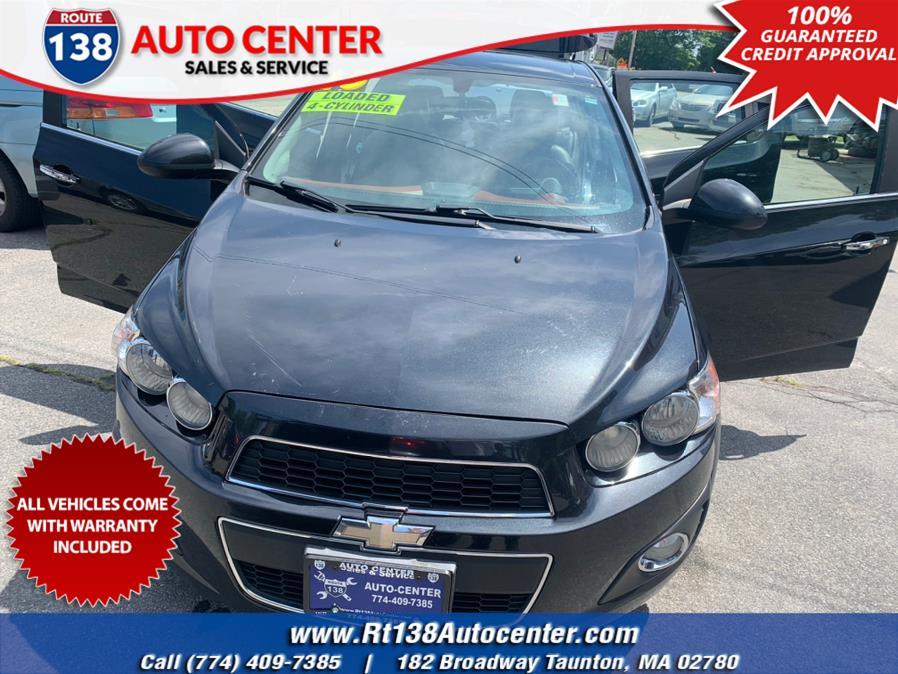 Used 2015 Chevrolet Sonic in Taunton, Massachusetts | Rt 138 Auto Center Inc . Taunton, Massachusetts