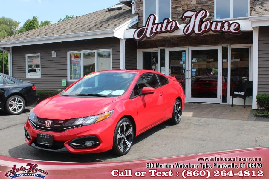 Used 2015 Honda Civic Coupe in Plantsville, Connecticut | Auto House of Luxury. Plantsville, Connecticut