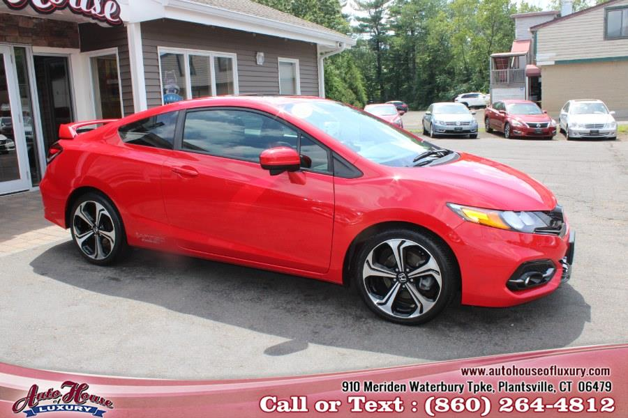 Used Honda Civic Coupe 2dr Man Si w/Navi 2015   Auto House of Luxury. Plantsville, Connecticut