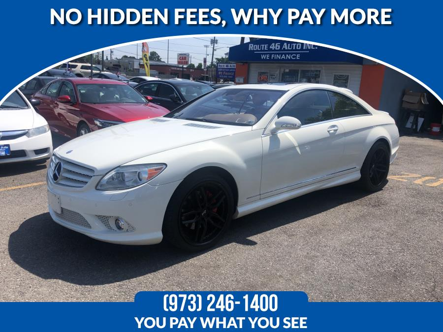 Used Mercedes-Benz CL-Class 2dr Cpe 5.5L V8 2008 | Route 46 Auto Sales Inc. Lodi, New Jersey