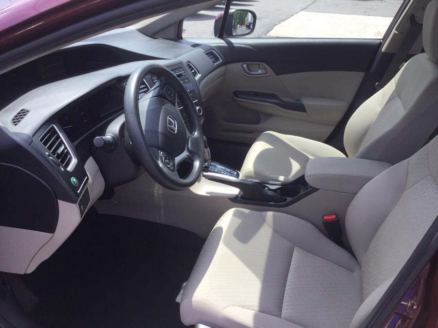 Used Honda Civic Sedan 4dr CVT LX 2015 | L&S Automotive LLC. Plantsville, Connecticut