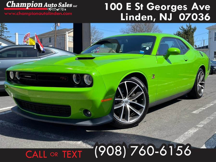 Used 2017 Dodge Challenger in Linden, New Jersey | Champion Used Auto Sales. Linden, New Jersey