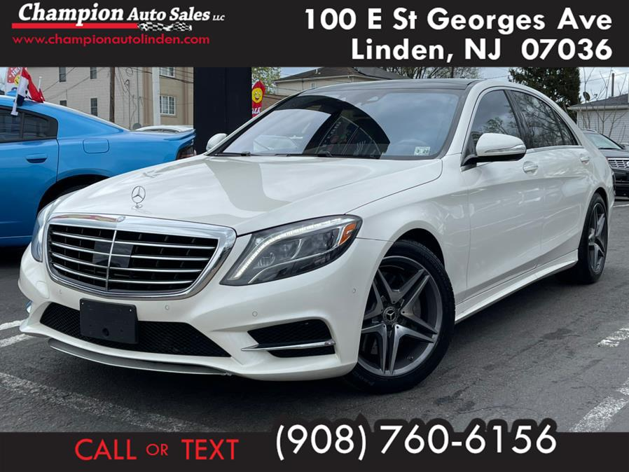 Used 2015 Mercedes-Benz S-Class in Linden, New Jersey | Champion Used Auto Sales. Linden, New Jersey