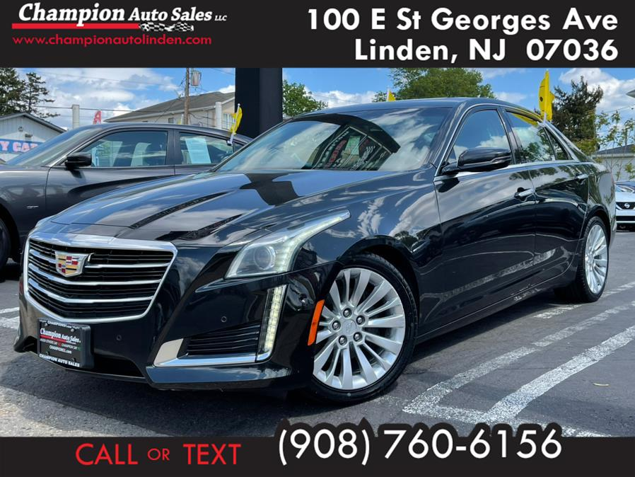 Used 2015 Cadillac CTS Sedan in Linden, New Jersey | Champion Used Auto Sales. Linden, New Jersey