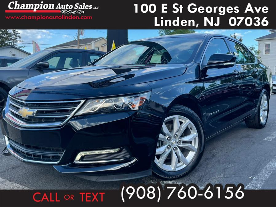 Used 2019 Chevrolet Impala in Linden, New Jersey | Champion Used Auto Sales. Linden, New Jersey