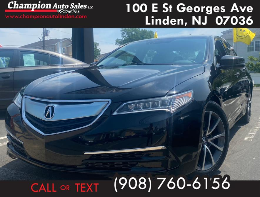 Used 2016 Acura TLX in Linden, New Jersey | Champion Used Auto Sales. Linden, New Jersey