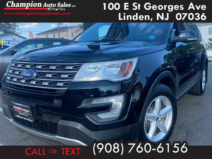 Used 2016 Ford Explorer in Linden, New Jersey | Champion Used Auto Sales. Linden, New Jersey