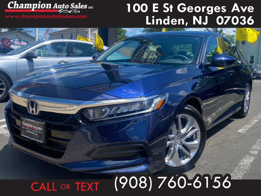 Used 2018 Honda Accord Sedan in Linden, New Jersey | Champion Used Auto Sales. Linden, New Jersey