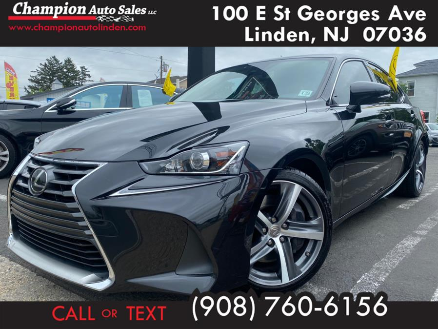Used 2017 Lexus IS in Linden, New Jersey | Champion Used Auto Sales. Linden, New Jersey