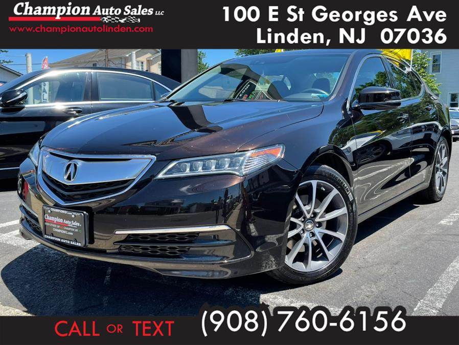 Used 2015 Acura TLX in Linden, New Jersey | Champion Used Auto Sales. Linden, New Jersey