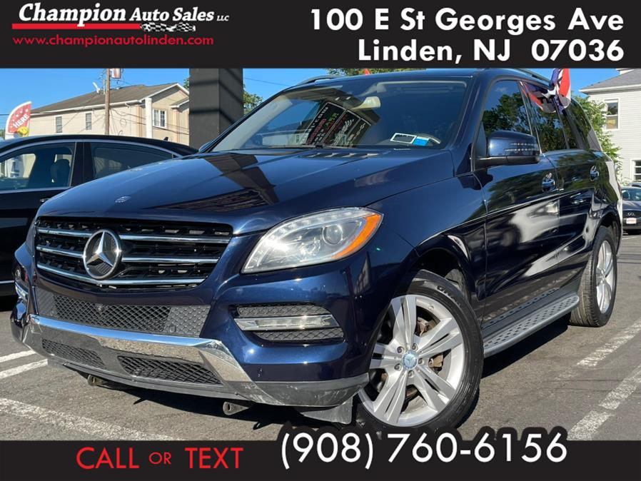 Used 2014 Mercedes-Benz M-Class in Linden, New Jersey | Champion Used Auto Sales. Linden, New Jersey