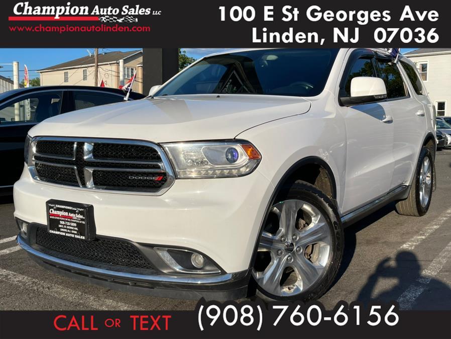 Used 2014 Dodge Durango in Linden, New Jersey | Champion Used Auto Sales. Linden, New Jersey