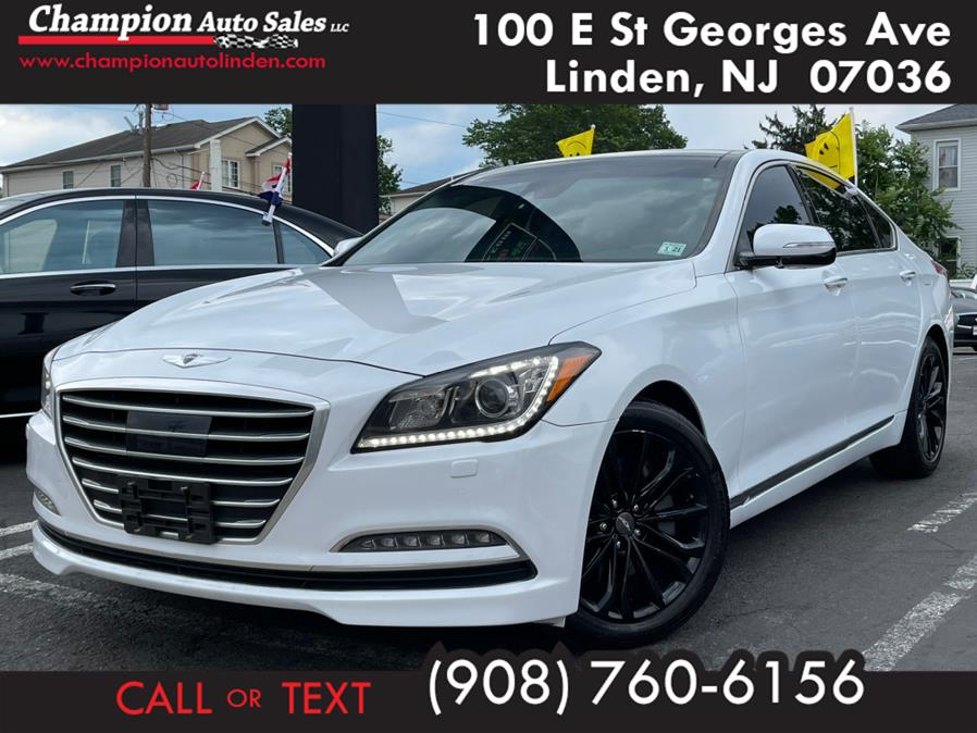 Used 2016 Hyundai Genesis in Linden, New Jersey | Champion Used Auto Sales. Linden, New Jersey