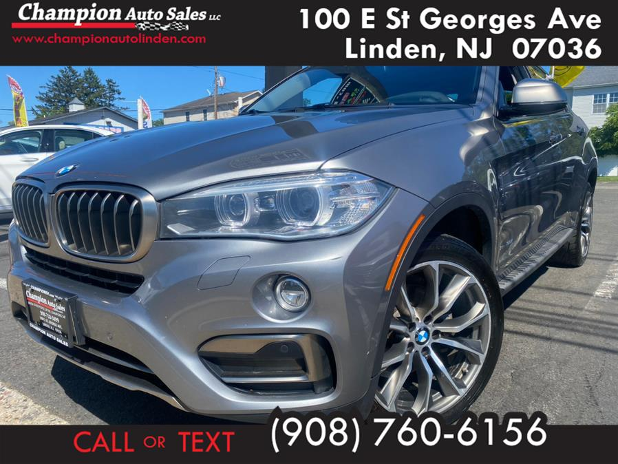 Used 2016 BMW X6 in Linden, New Jersey | Champion Used Auto Sales. Linden, New Jersey