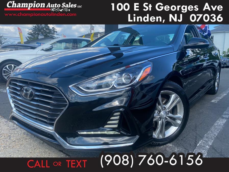 Used 2018 Hyundai Sonata in Linden, New Jersey | Champion Used Auto Sales. Linden, New Jersey