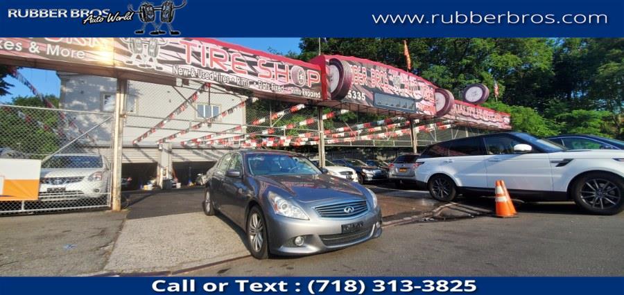 Used INFINITI G25 Sedan 4dr x AWD 2012 | Rubber Bros Auto World. Brooklyn, New York