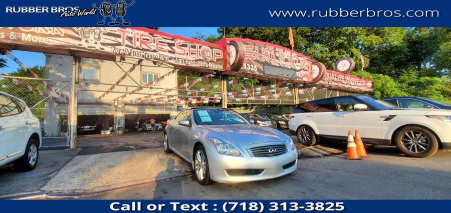Used INFINITI G37 Convertible 2dr Base 2009 | Rubber Bros Auto World. Brooklyn, New York