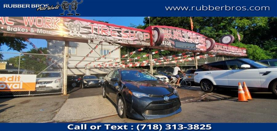 Used Toyota Corolla L CVT (Natl) 2018 | Rubber Bros Auto World. Brooklyn, New York