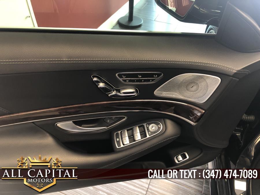 Used Mercedes-Benz S-Class S 450 4MATIC Sedan 2018 | All Capital Motors. Brooklyn, New York
