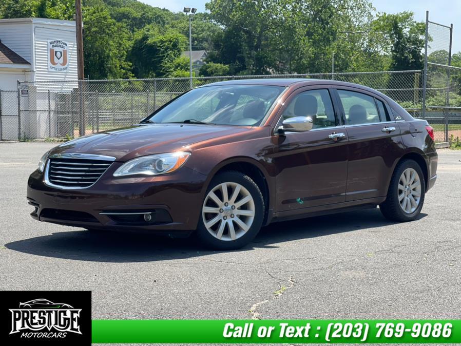 Used Chrysler 200 4dr Sdn Limited 2013 | J&J Auto Sales & Repairs llc DBA Prestige Motorcar. Oakville, Connecticut