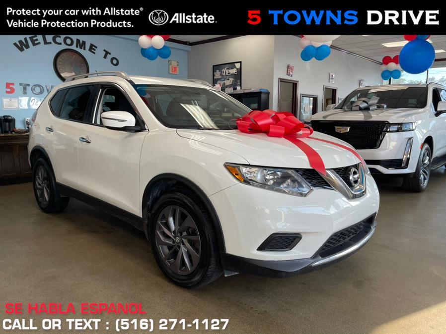 Used Nissan Rogue FWD 4dr S 2016   5 Towns Drive. Inwood, New York