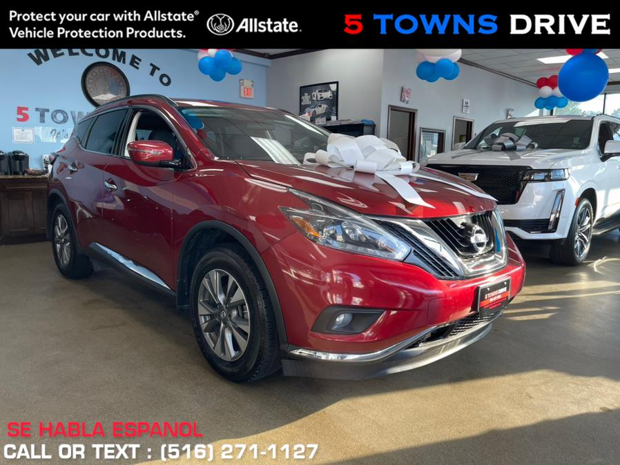 Used Nissan Murano AWD SV 2018 | 5 Towns Drive. Inwood, New York