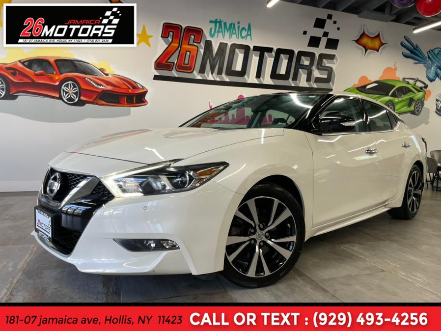 2018 Nissan Maxima SL SL 3.5L, available for sale in Hollis, NY