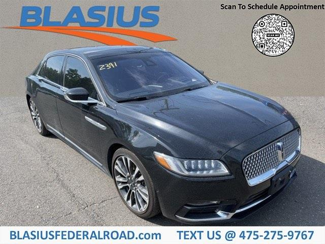 Used Lincoln Continental Reserve 2017   Blasius Federal Road. Brookfield, Connecticut