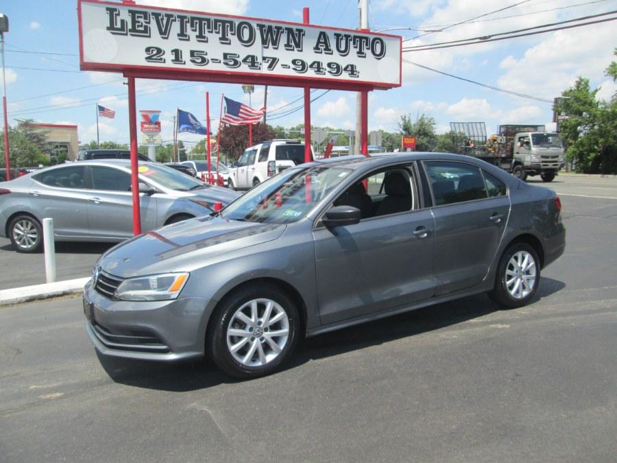 Used 2015 Volkswagen Jetta Sedan in Levittown, Pennsylvania | Levittown Auto. Levittown, Pennsylvania