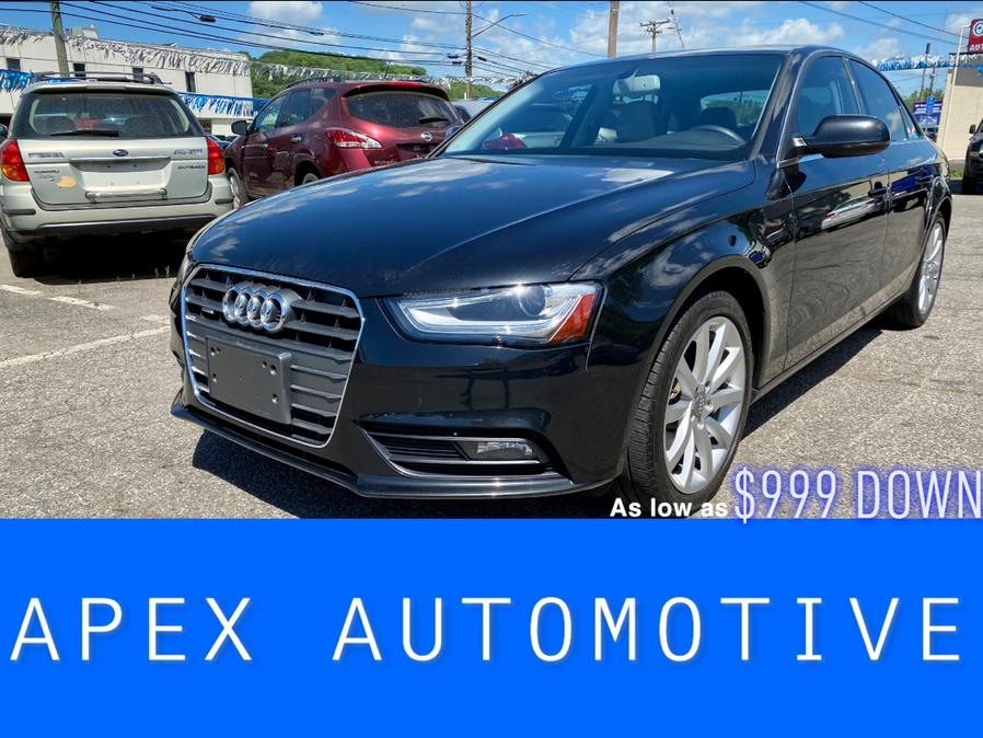 Used 2013 Audi A4 in Waterbury, Connecticut | Apex  Automotive. Waterbury, Connecticut