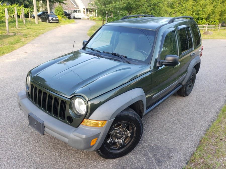 Used Jeep Liberty 4WD 4dr Sport 2007 | ODA Auto Precision LLC. Auburn, New Hampshire