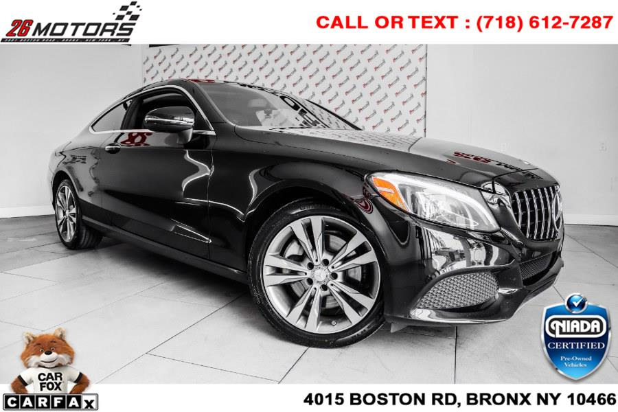 Used Mercedes-Benz C-Class C 300 4MATIC Coupe 2017 | 26 Motors Corp. Bronx, New York