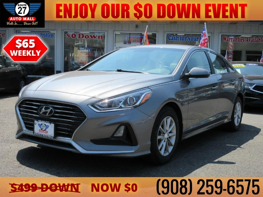 Used 2018 Hyundai Sonata in Linden, New Jersey | Route 27 Auto Mall. Linden, New Jersey